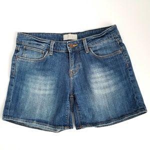 Zara Basic Denim Jean Shorts